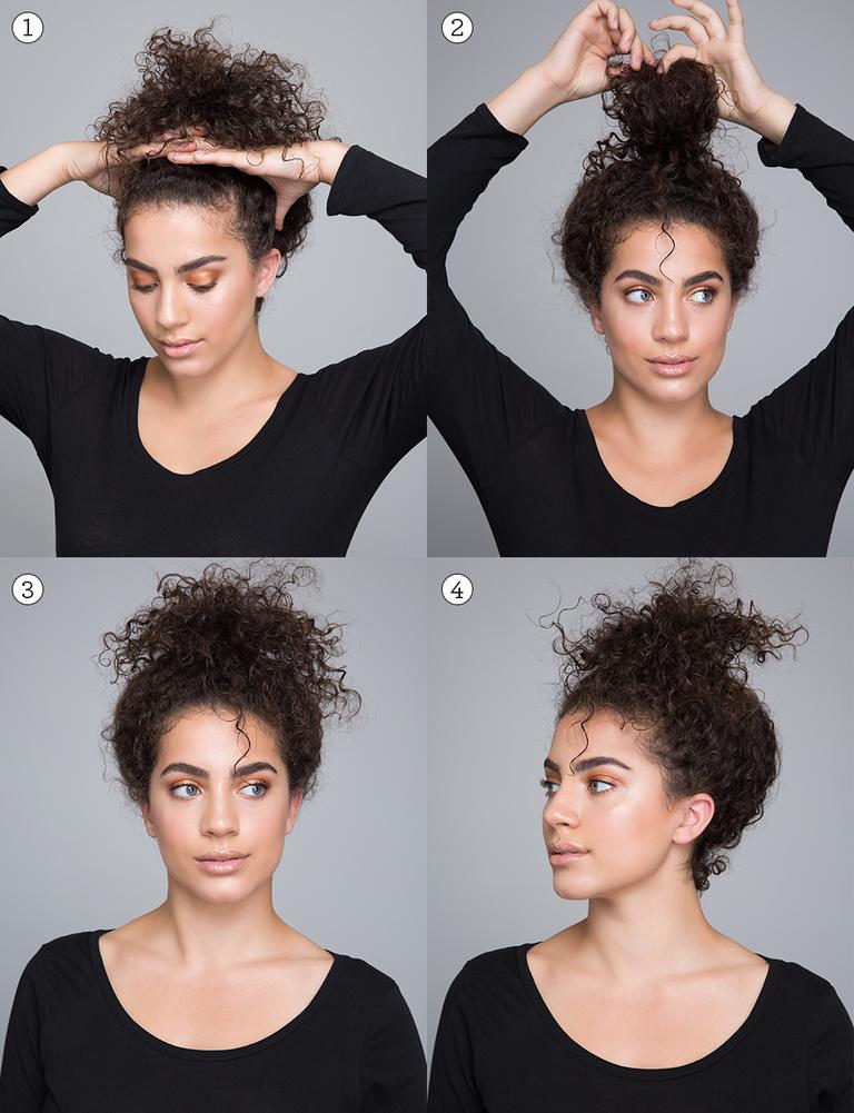 como peinar tu cabello rizado