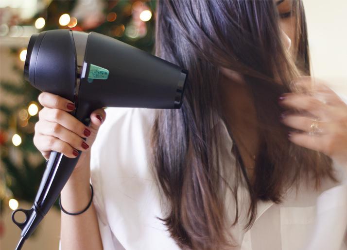 secador de pelo GHD prueba