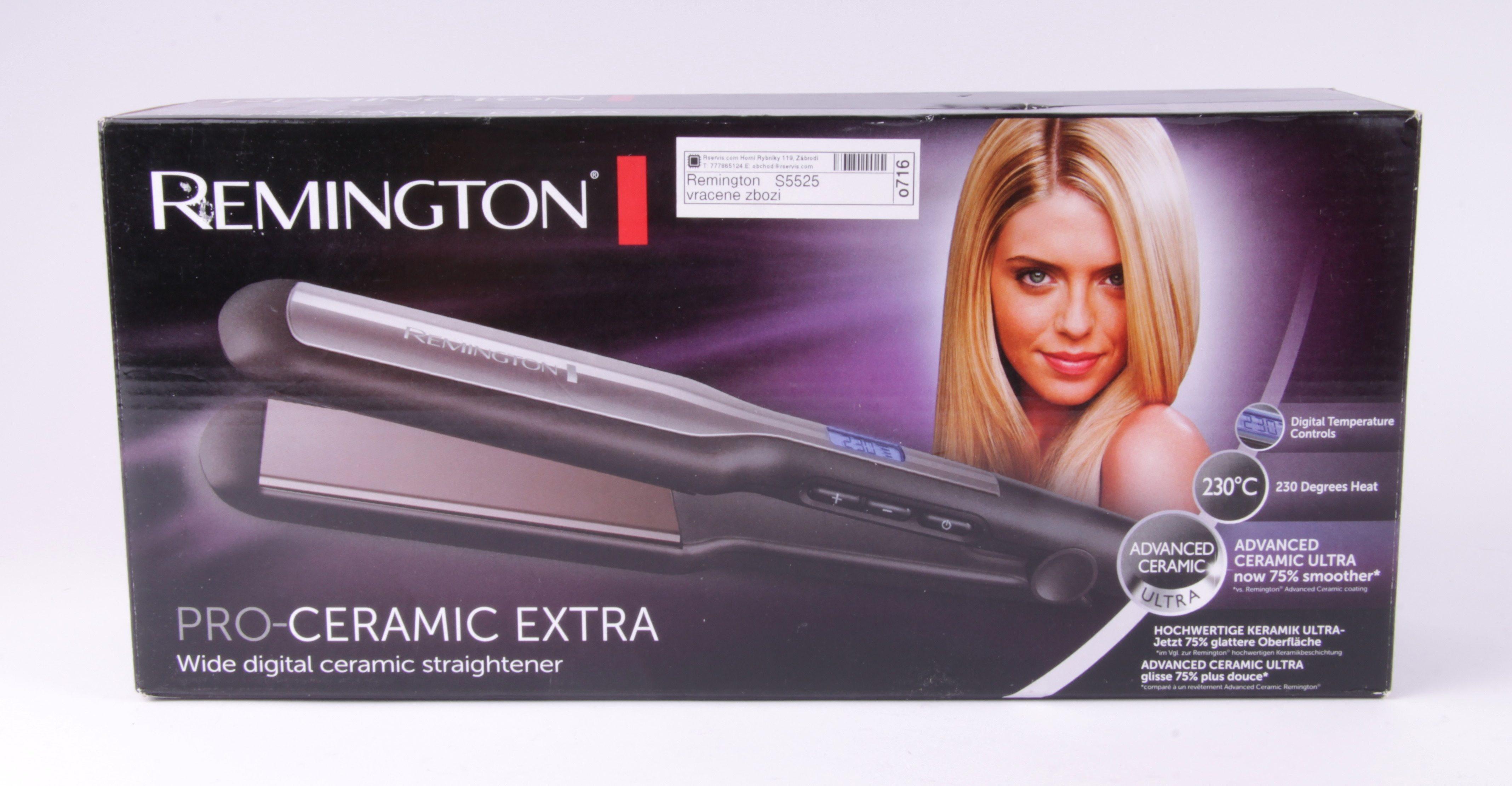 plancha de pelo remington-s5525