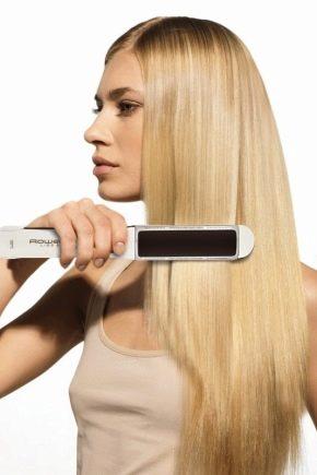 mejores planchas de pelo rowenta
