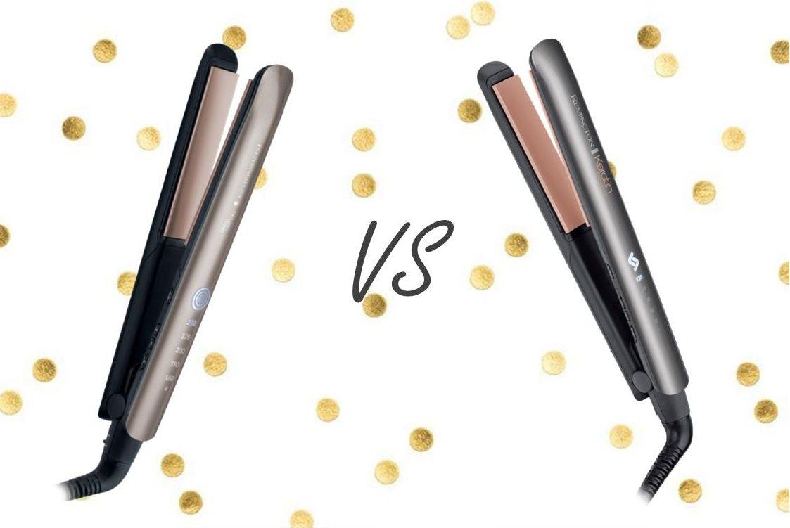 Remington S8590 Keratin Therapy Pro vs S8598 Keratin Protect - Comparativa