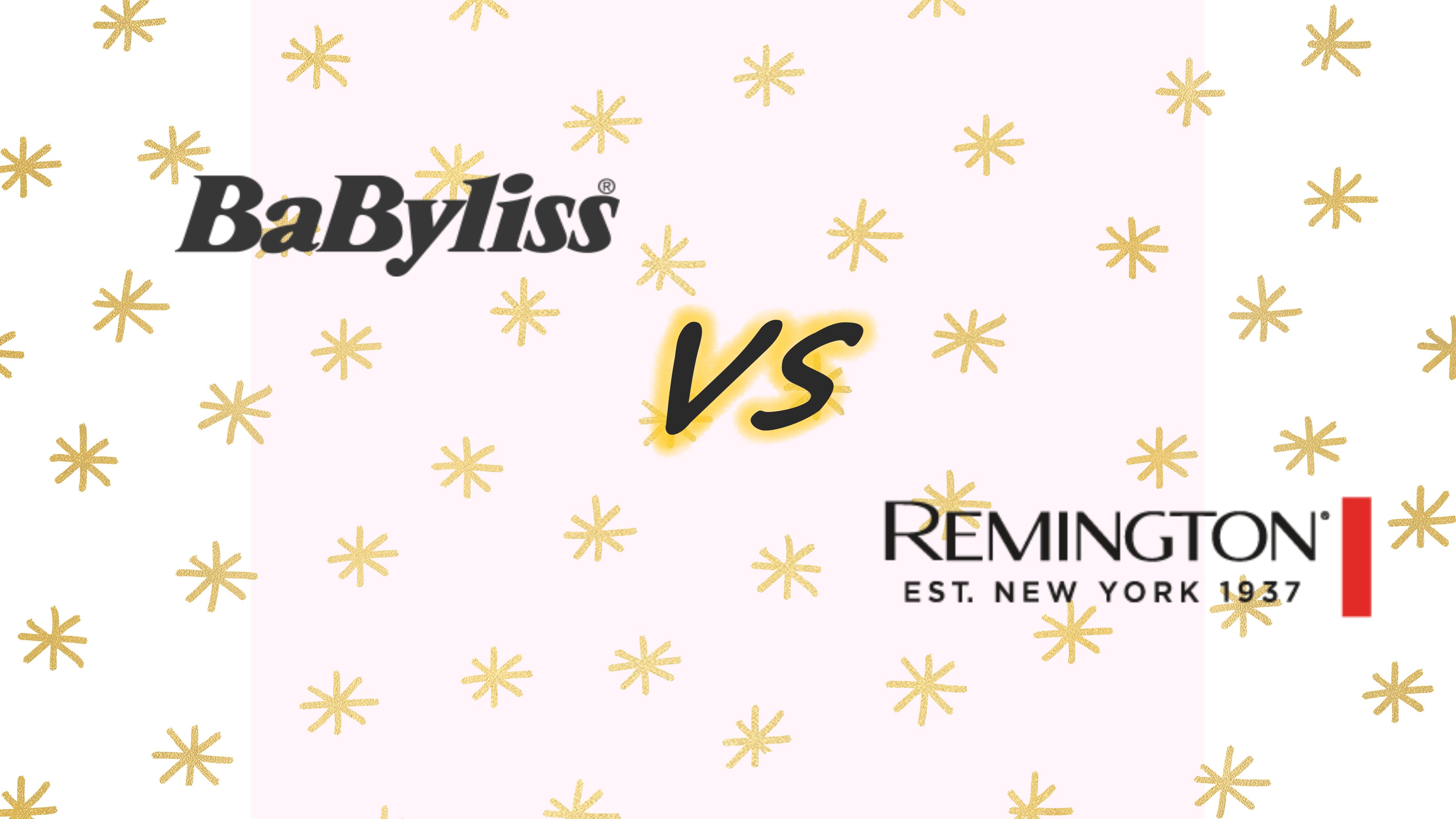 planchas de pelo BaByliss vs. Remington